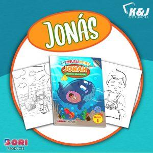 Coloreando Mi Historia Biblica- Jonás