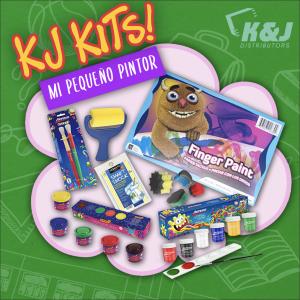 KJ Kits- Mi Pequeño Pintor